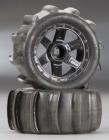 "Pro-Line 1010110 Sling Shot 2.2"" Sand Tires Mounted 1/16 E-Revo"