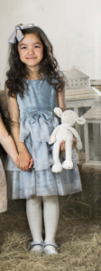 Bilde av kjole amor grey blue
