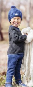 Bilde av genser s�ml�s brun