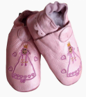 skinntøffel celavi rosa prinsesse