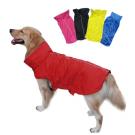 Solid hundedekken med fleece og refleks