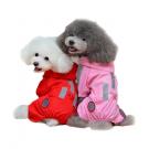 Vindtett dress med refleks til hund