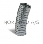 1mtr Flexible Exhaust Ø45mm outside