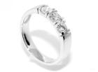 Superdeal! Alliansering med diamanter 0.60 carat w.si