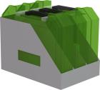 Veske/koffertholder for Essve kassettveske