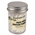 STAMPENDOUS - FRAN-TAGE - EMBOSSING ENAMEL - SHABBY WHITE