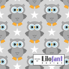Lilofant Grå ugler