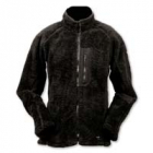 "Oliver ""fluffy"" fleece jacket, Black"