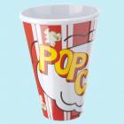 Popcorn beger