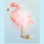 Flamingo i glass