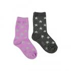 Molo,Nesi dark grey melange sokker
