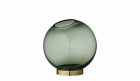 AYTM Globe Round Glass Vase Small
