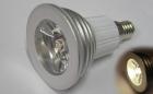 E14 3w Varmhvit LED pære, 230V