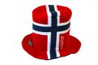Supporter hatt i norsk flagg
