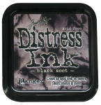 DISTRESS DYE INKS PAD - Black Soot