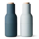 Bottle Grinder Blue Menu