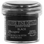 RANGER - EMBOSSING POWDER SUPER FINE DETAIL - BLACK