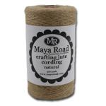 MAYA ROAD - CRAFTING JUTE CORDING ROLL 2705 - NATURAL