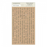 AUTHENTIQUE - PETITE DICTION MINI WORDS ACC019 - ACCOMPLISHED