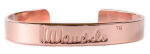 Mandela Copper Bangle