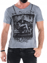 Hot Riders Tee - Steel