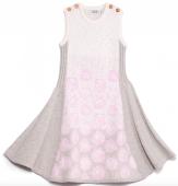 Bilde av �kjole winterrose grey pink