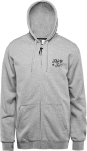 Bilde av Zip Hood - Thirtytwo Skripto Zip Fleece Grey/Heather