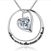 Halskjede i sølv Love