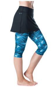 Bilde av Lotta Breeze Capri Skirt Stargaze Print/Black