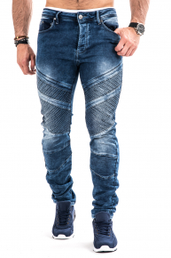Joggejeans Power - Blå