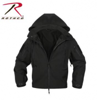 Special Ops Tactical Softshell Jacket - Black