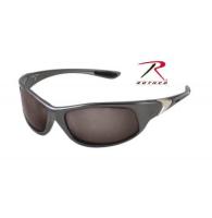 Rothco 0.25 ACP Solbriller - Gray Frame - Smoke Lens