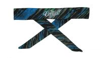 Virtue Headband - Cyan/Lime