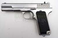 WE - TT33 Gass Softgun med Blowback i S�lv!