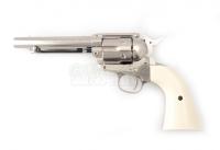 Colt Peacemaker SAA .45 - Nickel -  4.5mm Pellets