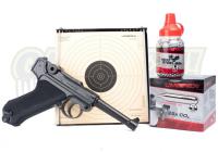 Umarex Legends P08 - 4.5mm BB Luftpistol - PAKKE