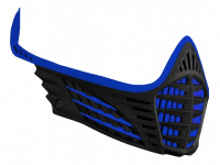 Virtue VIO Facemask - Blue/Blue/Black