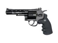 Dan Wesson Revolver 4 Sort - 4.5mm BB