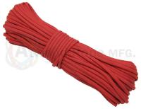 Paracord 550 Kevlar Red - 15meter Bunt