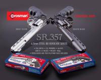 Crosman 357 Magnum 4.5mm BB Sort
