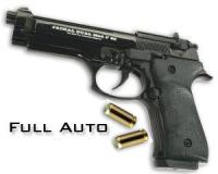 V92F Jackal Dual Black Full Auto - Startpistol - 9mm PAK