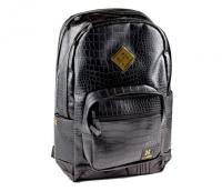HK Backpack - Black Gator Skin