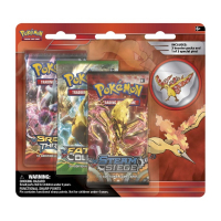 Pokémon - 3P Blister Steam Siege med Molters Pin