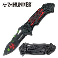 Zombie Hunter Biohazard Foldekniv - R�d