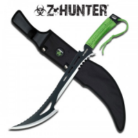 Zombie Hunter Machete Renegade - Blue