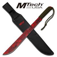 M-Tech - Red Skull Full Tang Machete