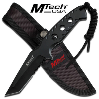 M-Tech Tactical Tanto Knife - Black