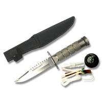 Snake Eye - Mini Survival Kniv - Sølv