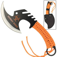 Zombie Killer �ks - Orange Paracord