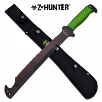 Zombie Hunter Saw Back Machete